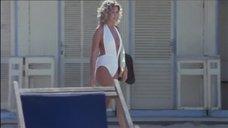 Секси Анна Мария Риццоли в купальнике