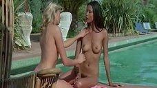 4. Горячая сцена с Лаурой Гемсер и Изабель Маршалл возле бассейна – Черная Эммануэль