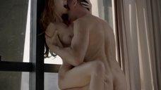 Секс с Мишель Батистой у окна