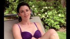 Патриша Шарбонно в купальнике