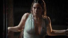 Секси Джейми Ньюманн в мокром платье