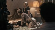 Съемка порно с Деборой Твисс и Эмили Миде