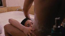 3. Секс с Канако Нисикавой в ванне – Белая лилия
