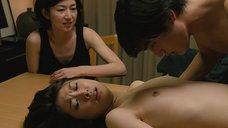 Горячая секс сцена с Рин Асукой