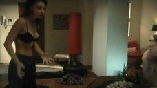 Юлия Маврина в лифчике