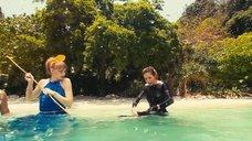 4. Светлана Ходченкова, Анна Хилькевич и Агния Чадова ловят рыбу – Остров везения