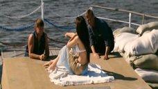 5. Мария Горбань загорает на корабле – Мой капитан