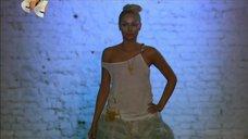 Наталья Рудова на показе мод