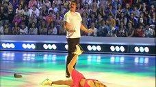 5. Танец яркой Анны Семенович на льду