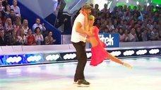 8. Танец яркой Анны Семенович на льду
