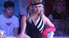 Танец Анны Семенович на льду