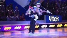 3. Танец Анны Семенович на льду