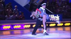 4. Танец Анны Семенович на льду
