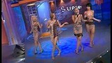 8. группа «Блестящие» с песней «А я все летала» на шоу В. Стрельникова «Super»
