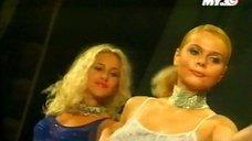 7. Съёмки группы «Блестящие» в телепередаче «Поехали»