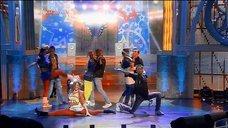 Шпагат Марии Кожевниковой на телешоу «Две звезды»