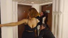 5. Мария Кожевникова в черном платье – Сокровища О.К.