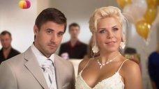 Виктория Лукина в свадебном платье