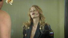 7. Светлана Ходченкова в пиджаке без лифчика – Метод Лавровой