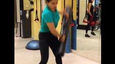 2. Тренировка Тины Канделаки