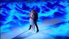 10. Чувственный танец  Лянки Грыу на льду