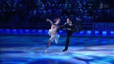 Чувственный танец  Лянки Грыу на льду