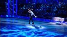 7. Чувственный танец  Лянки Грыу на льду
