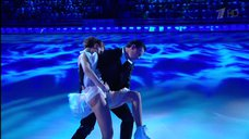 9. Чувственный танец  Лянки Грыу на льду
