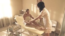 Ирина Пегова на косметических процедурах