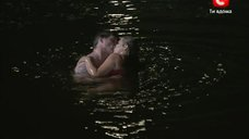 Ночное купание Ирины Пеговой