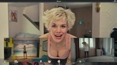 Анна Старшенбаум светит бюстом по вебке