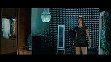 Эбби Ли в прозрачном платье