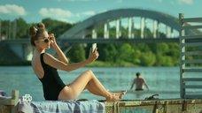 Ольга Веникова в купальнике