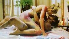 Секс с Танит Феникс в краске