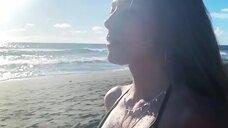 Ольга Веникова в купальнике для Instagram
