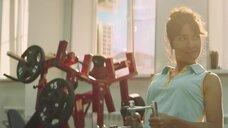7. Ирина Горбачева, Алена Михайлова, Ирина Носова и Варвара Шмыкова в спортзале – Чики