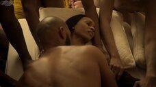1. Групповая секс сцена с Мелиссой Л. Уильямс – Безжалостный (2020)