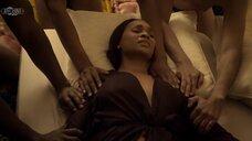 2. Групповая секс сцена с Мелиссой Л. Уильямс – Безжалостный (2020)