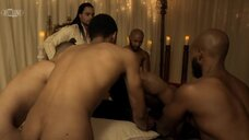 3. Групповая секс сцена с Мелиссой Л. Уильямс – Безжалостный (2020)