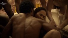Групповая секс сцена с Мелиссой Л. Уильямс