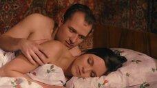 Наталья Земцова в постели