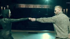 2. Анастасия Талызина в обтягивающем костюме – Патриот