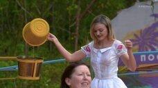 Засвет груди Ланы Реутовой в мокром платье