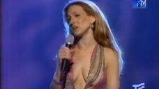 Сара Джессика Паркер в откровенном платье на MTV Movie Awards 2000