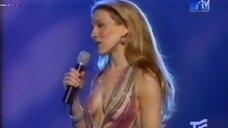 5. Сара Джессика Паркер в откровенном платье на MTV Movie Awards 2000
