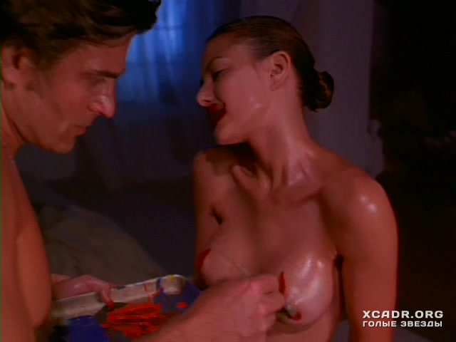 Kari Wuhrer Lathered In Paint Before Sex Plot In Luscious