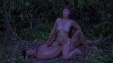Подглядывание за сексом в лесу