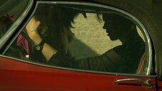 Секс с Шивой Негар в машине