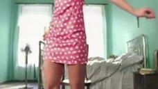 3. Молодая Полина Гагарина в коротком платье в клипе «Я твоя»