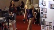 Модельная походка Натальи Водяновой